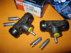 MERCEDES LCV BM601,BM602(77-95)NEW PAIR of REAR BRAKE WHEEL CYLINDERS - BWC3495
